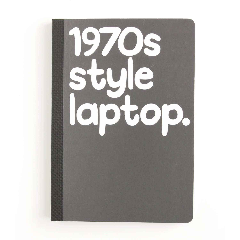 1970′s style laptop by Waldo Pancake