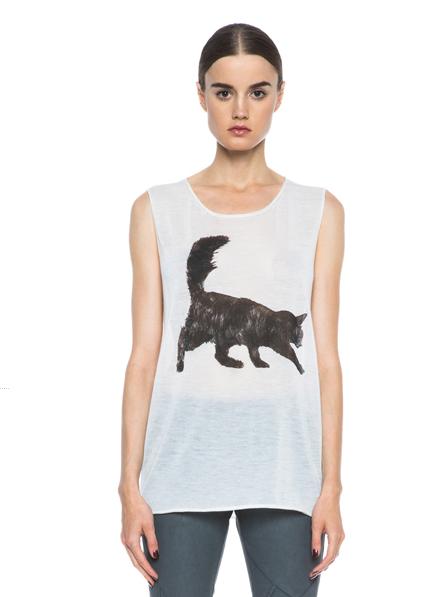 Tess Giberson Cat Shirt